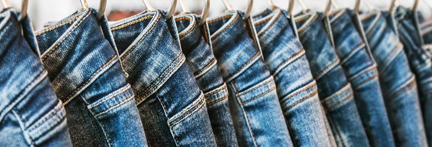 Jeans à la mode pour garçons